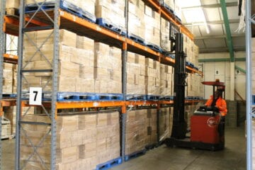 Palletised Warehouse Storage Units Cambridgeshire